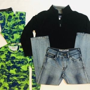 Boy's Size 10 🔹LOT of 4 pcs 🔹 Jeans ++